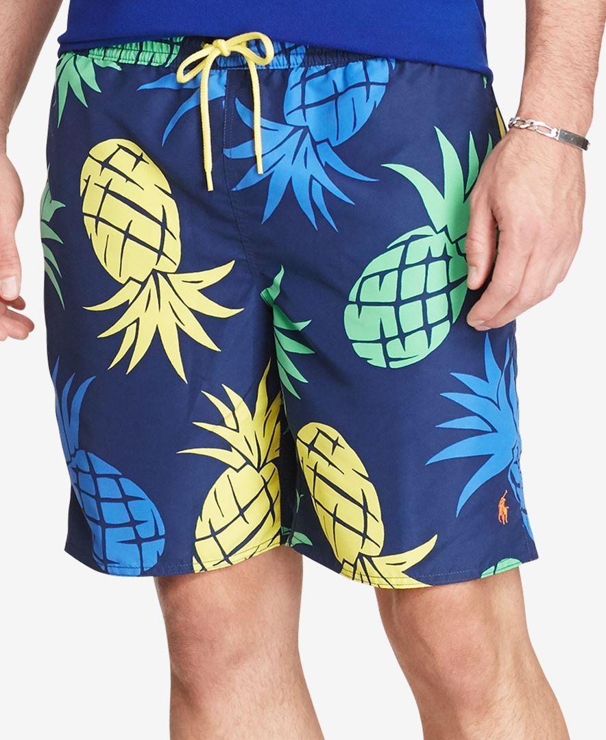 5fb1dea1ca Polo Ralph Lauren Men's Big & Tall Printed Swim Trunks | Products ...