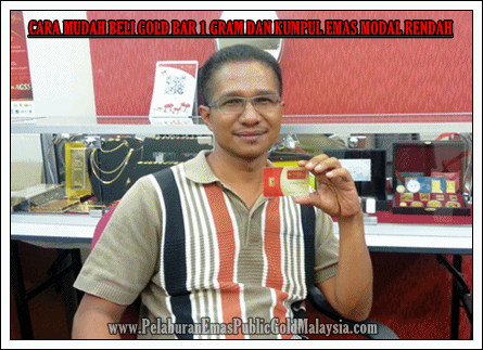 Cara Membeli Gold Bar 1 Gram Program Gap Public Gold Gold Bar Cara Public