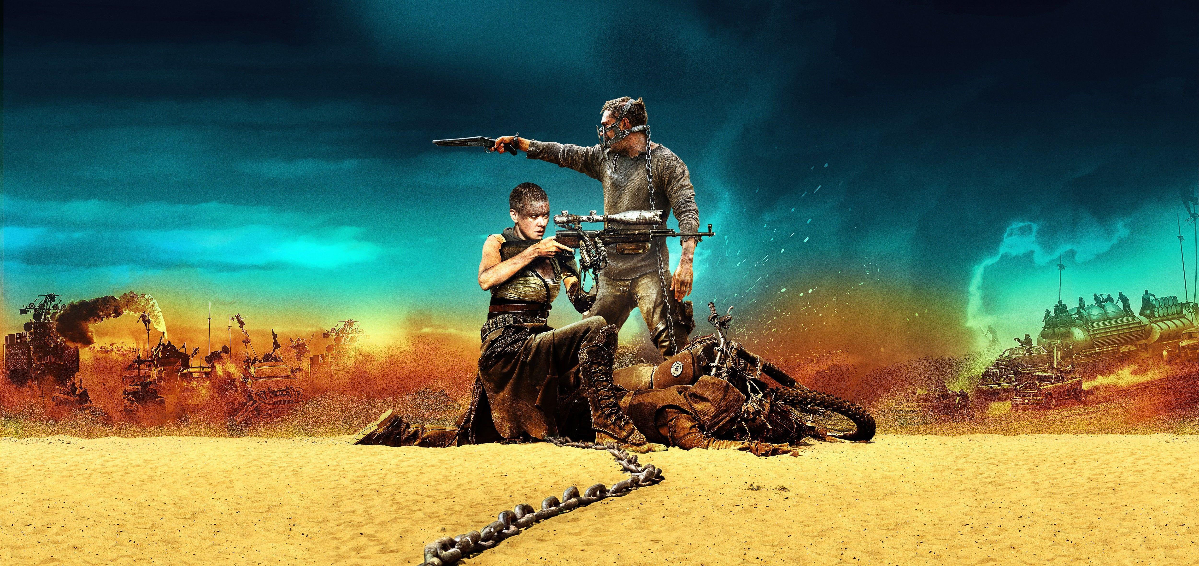 Mad Max Imperator Furiosa Fury Road #Max #4K #wallpaper # ...