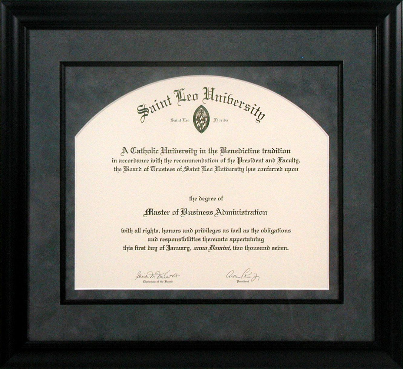 Let us add interest to your diploma with custom matting that makes a ...
