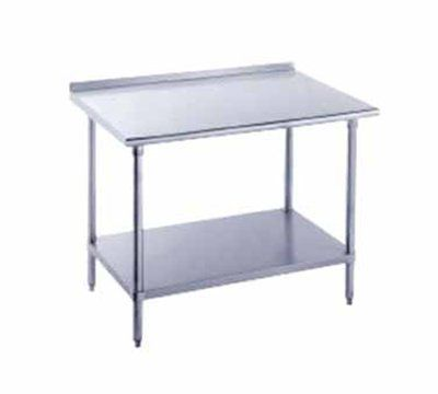 Httpchristcomenetarmenlivingmdtobaccofabriccolorside - Stainless steel table with backsplash and sides