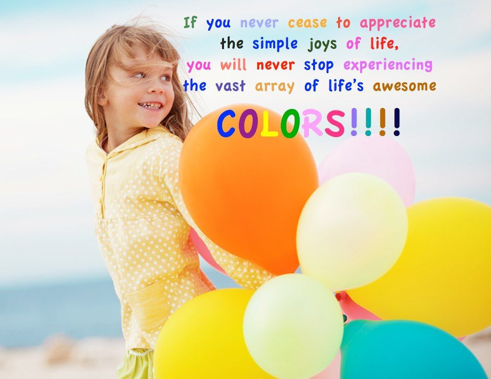 Color Your Life! For More Daily Positive Inspirations And More Visit  Https://