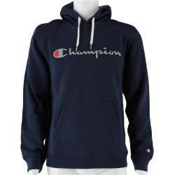 Photo of Champion Hoodie Big Logo Print 2018 gray-blue Men's ChampionChampion