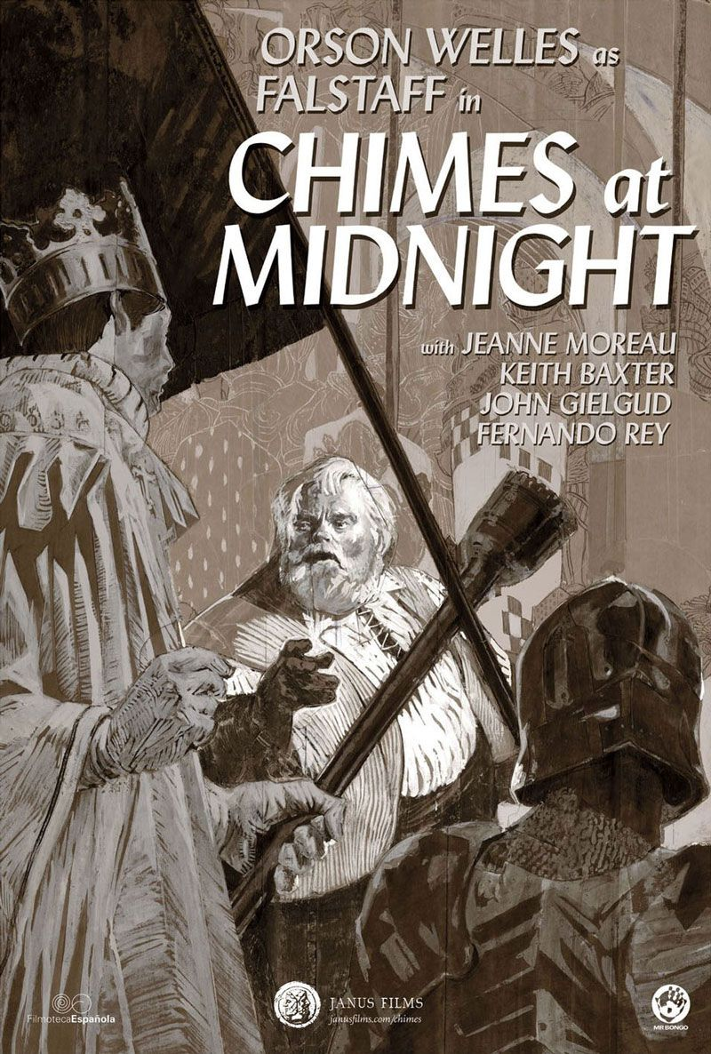 """Movie Poster of the Week: Orson Welles' """"Chimes at Midnight"""" on Notebook 