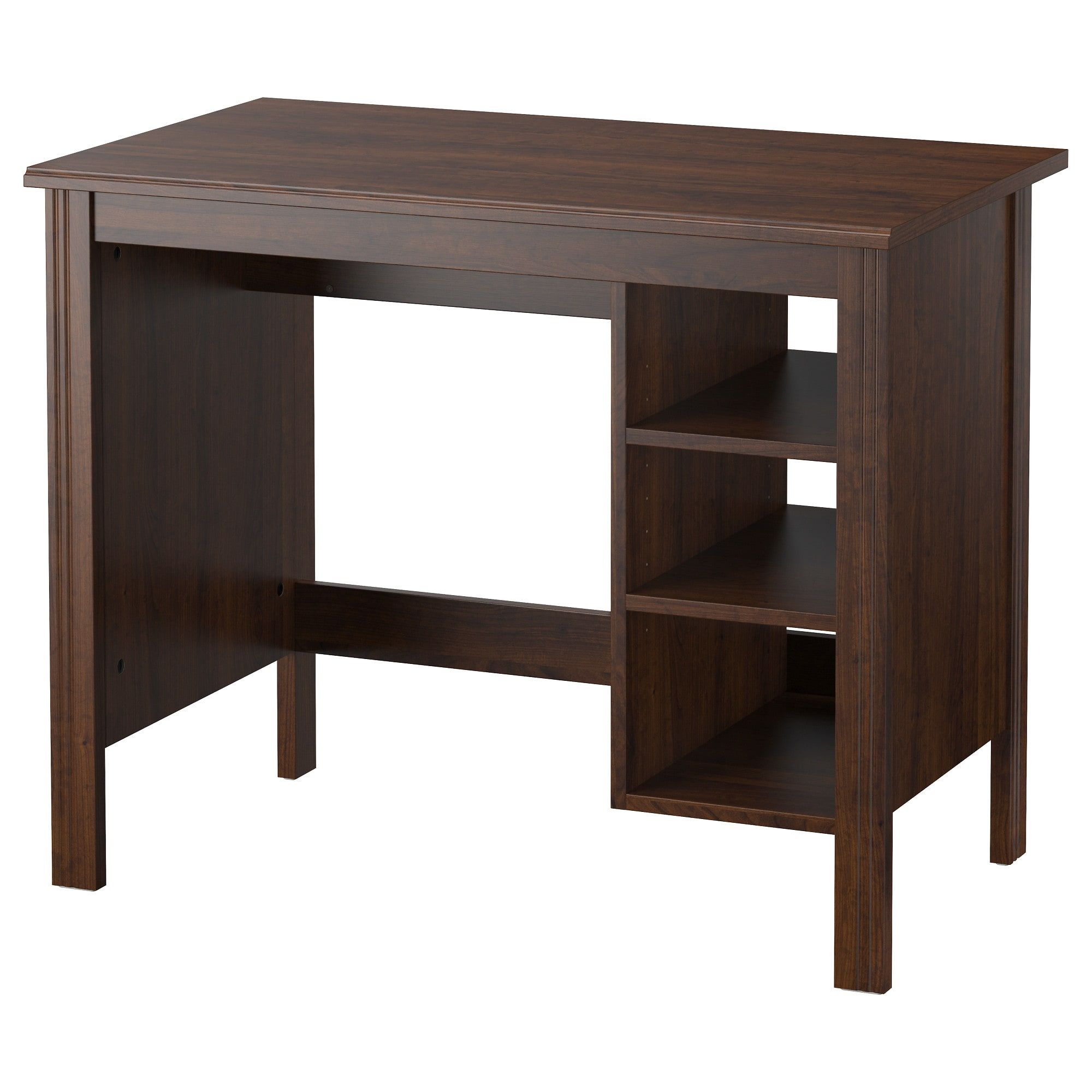 IKEA BRUSALI Brown Desk | Ikea brusali, Ikea desk, Home