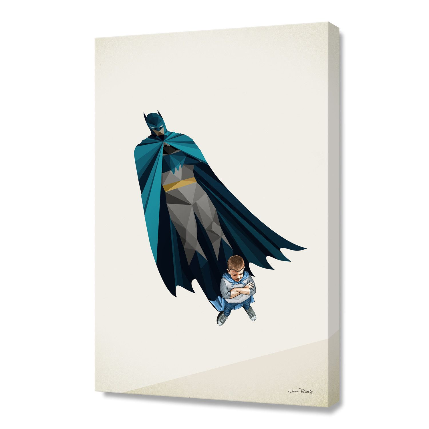 """Little Bruce (Stretched Canvas // 16""""W x 24""""H x 1.5""""D)"""