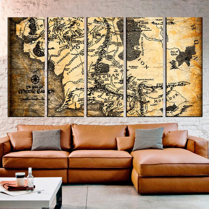 Lord of the Rings Maps Canvas Wall Art //geekxgirls.com/article.php?IDu003d8581 & Lord of the Rings Maps Canvas Wall Art http://geekxgirls.com/article ...