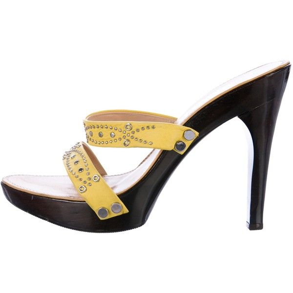 Pre-owned - Leather sandal Versace XrvZe