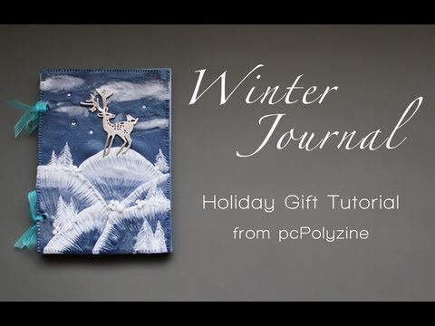 Winter Journal ~ Pendant techniques ~ Polymer Clay Tutorials