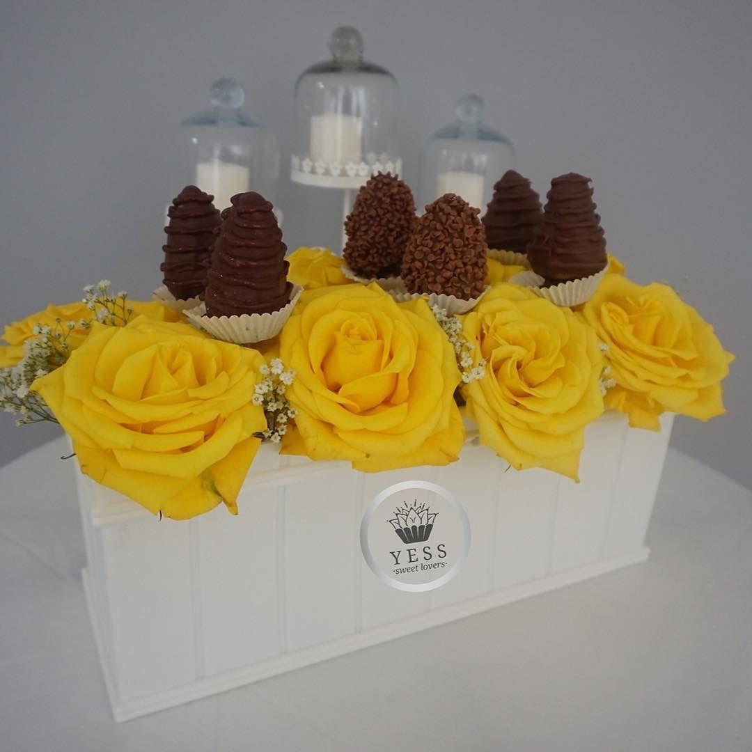 Es tu cumple pronto?  Hermoso Ramo de Rosas con fresas cubiertas de Chocolate. Una excelente opción para celebrar.  Haz tu pedido ya!  #deliverypty #pararegalar #sorprende #rosas #fresas #fresasconchocolate #felicidadenpanama #hechoconamor #amarillo #energia #belleza #panama507