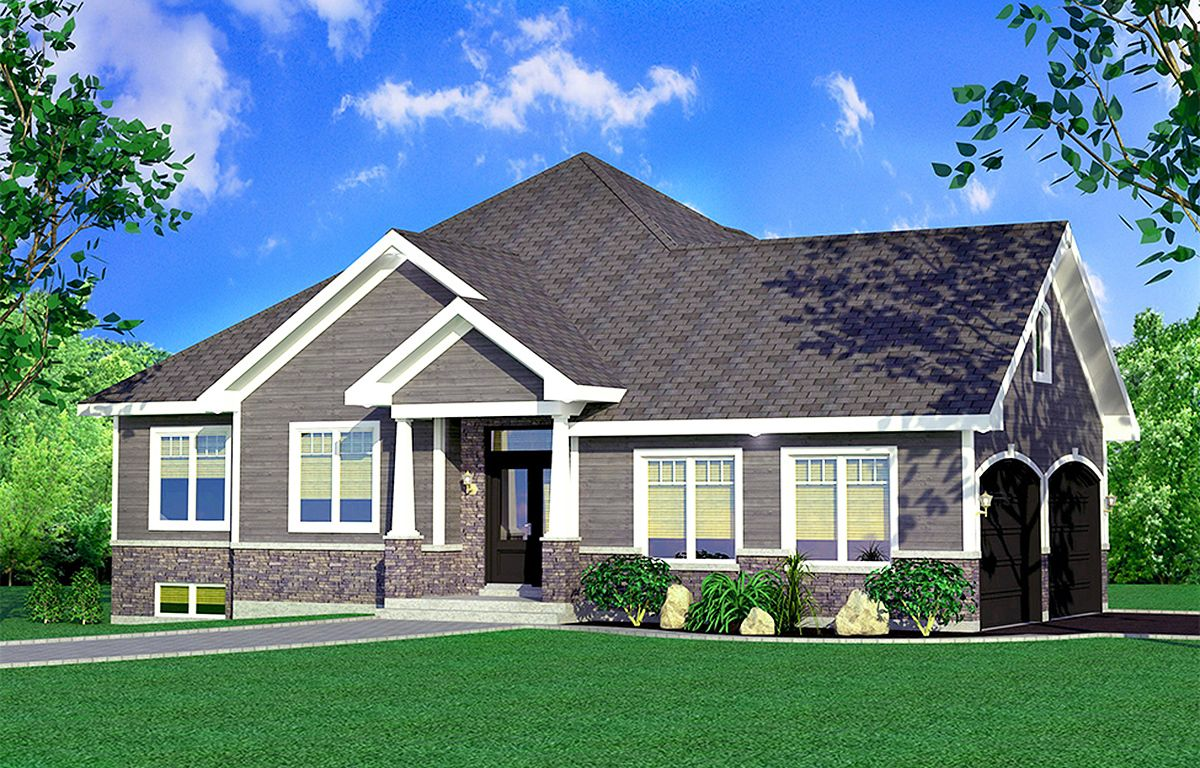 Plan 90288PD: One Story Traditional House Plan | Craftsman ...