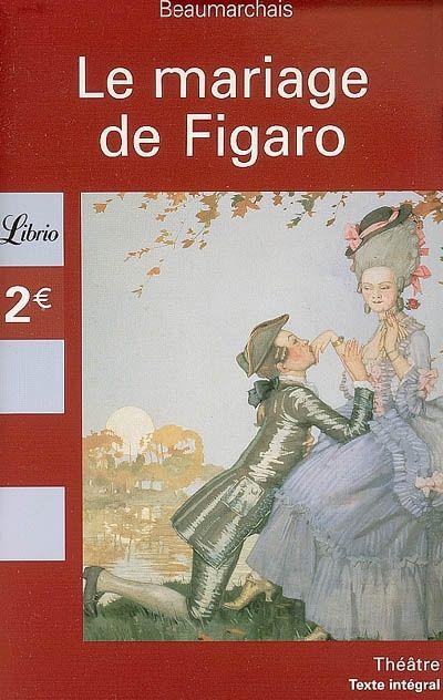 Livre Le Mariage De Figaro
