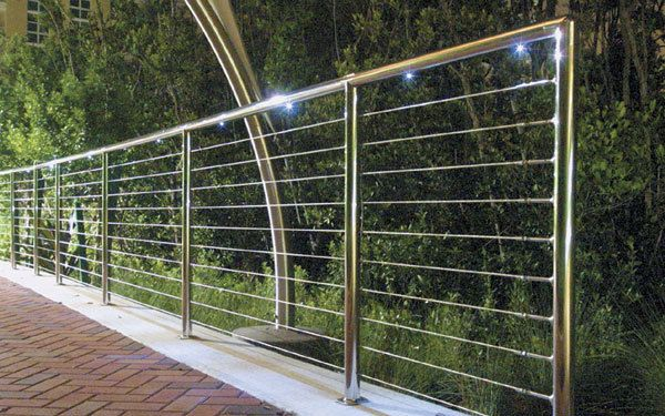 SunRail Stainless Steel Railing System With Cable Infill