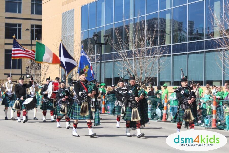 2018 St Patrick S Day Parade Events 4 Des Moines Families Dsm4kids St Patricks Day Parade Event Des Moines