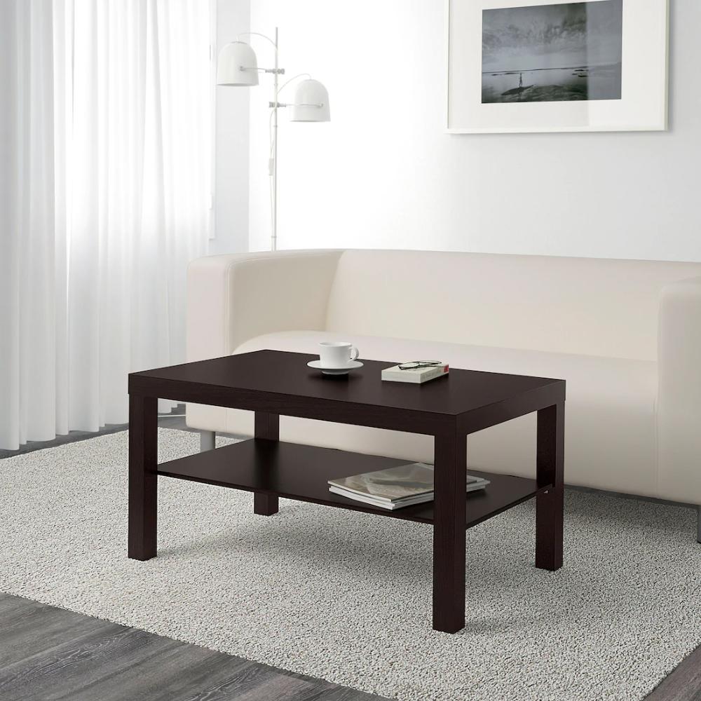 """LACK Coffee table, blackbrown, 35 3/8x21 5/8"""" IKEA in"""