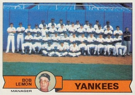 1979 baseball cards yankees -  NR-MT Have 1 for sell/trade