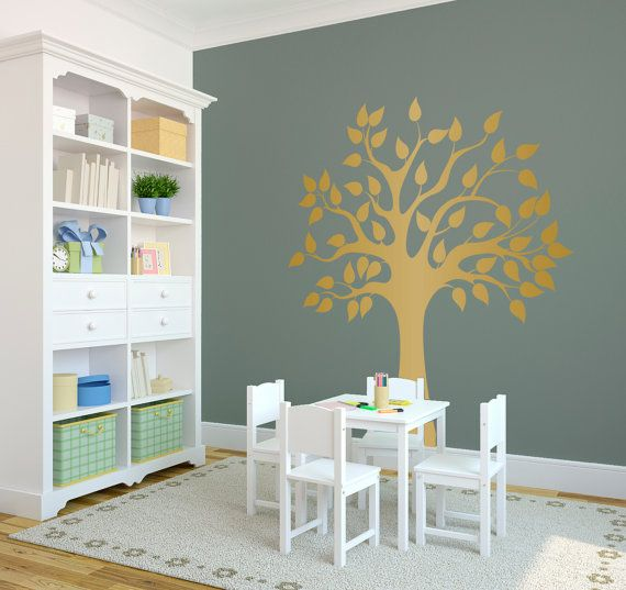 Wall Decal Custom Vinyl Art Stickers Modern Nature By Danadecals 65 00