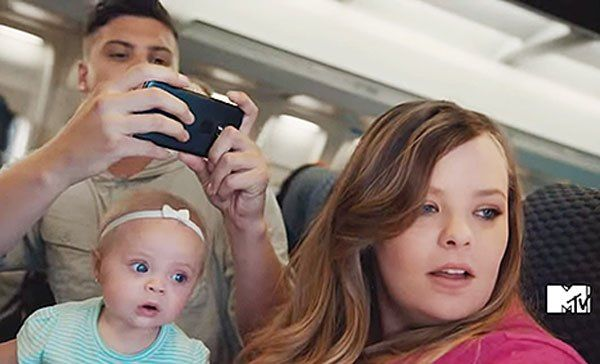 'Teen Mom OG' stars Catelynn Lowell and Tyler Baltierra have gone from reality TV staples to movie stars. They filmed a hilarious commercial for the upcoming action movie, 'Mission: Impossible – Rogue Nation,' with their baby, Novalee, and it's so funny!