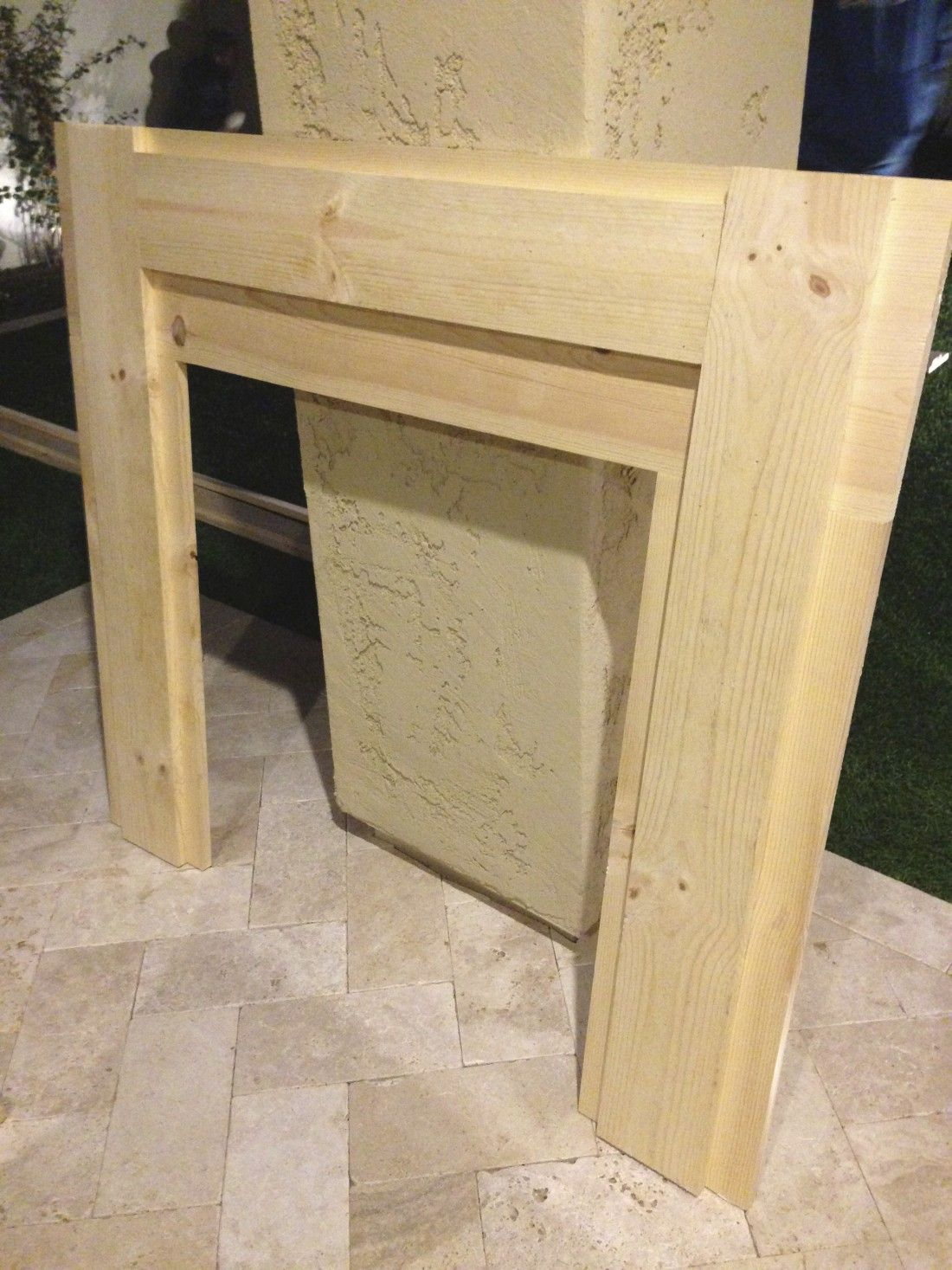 Diy faux fireplace u mantel faux fireplace faux fireplace mantels