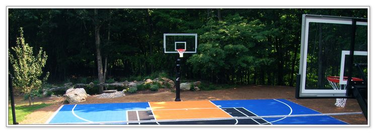 Flex Court Athletics Offers Some Of The Best Adjustable Or Fixed Height  Residential Basketball Goals In The Market.