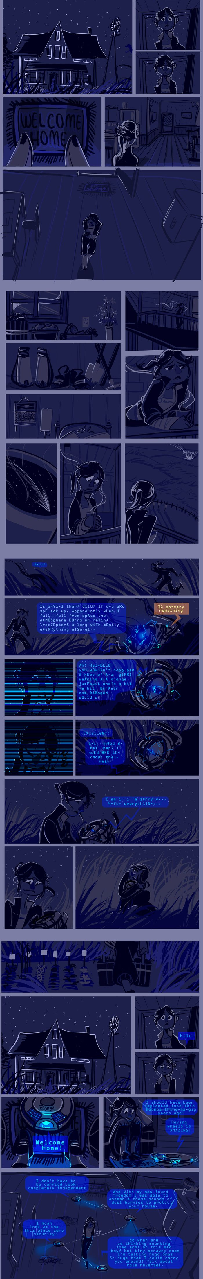 """Ever wondered what happens after Portal 2? Minwind knows. """"Welcome Home"""" by Minwind on @deviantART"""