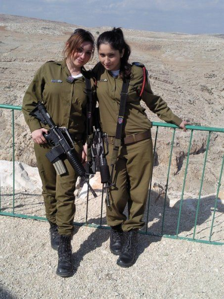WOMEN OF THE IDF: Israeli Guns on the Beach | IDF - Israel ...
