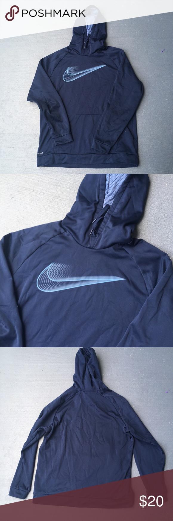 Navy Blue Nike Hoodie Nike Hoodie Blue Nike Nike [ 1740 x 580 Pixel ]