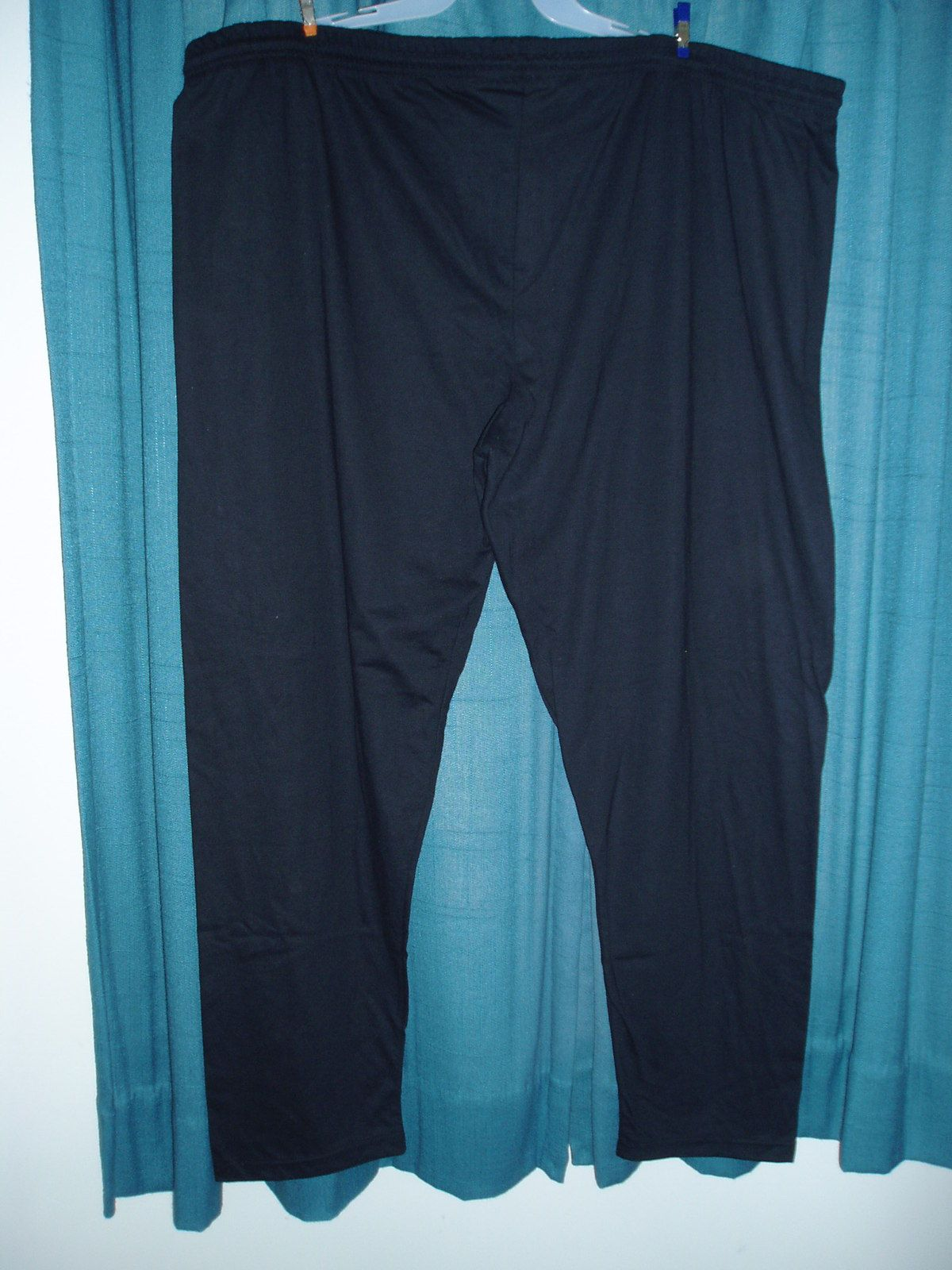 60e57ea54faf LADIES PLUS SIZE COTTON PANTS ELASTIC WAISTBAND  NO POCKETS OPEN AT ANKLES  SLIGHTLY TAPERED LEG