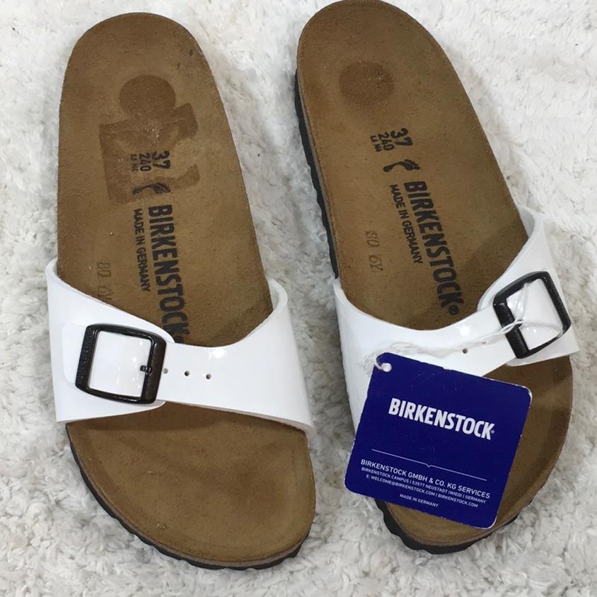 Birkenstock Shoes Birkenstock Madrid White Sandals Color White Size 6 Birkenstock Madrid White White Sandals Birkenstock