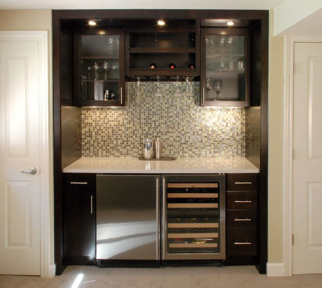How To Make The Best Of Your Kitchenette: Wet Bar Ideas For Small Spaces Ideas