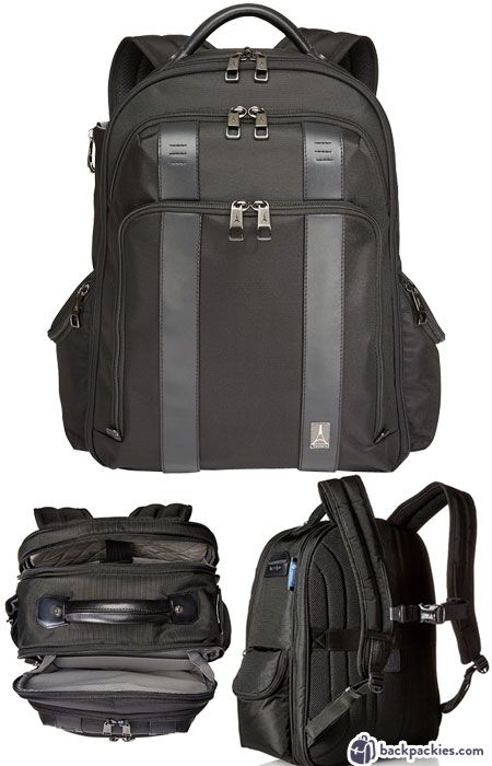9e6aa081526d TravelPro business travel backpack - quality backpacks like Tumi -  backpackies.com
