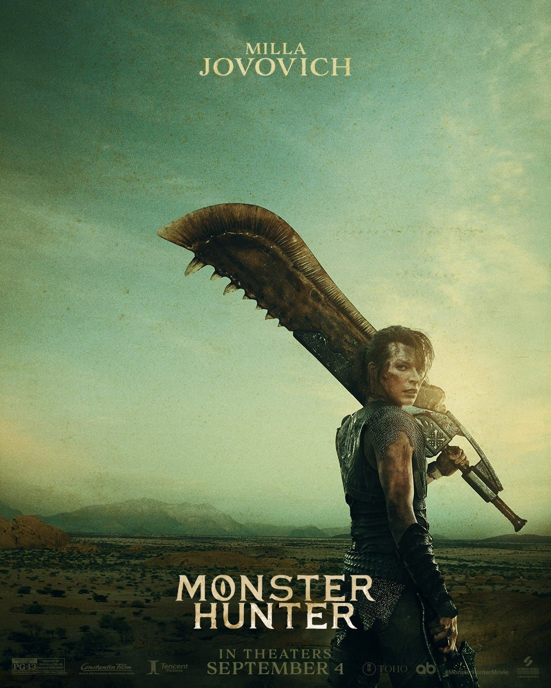 Monster Hunter 2021 Movie Release Trailer Monster Hunter Movie Milla Jovovich Monster Hunter