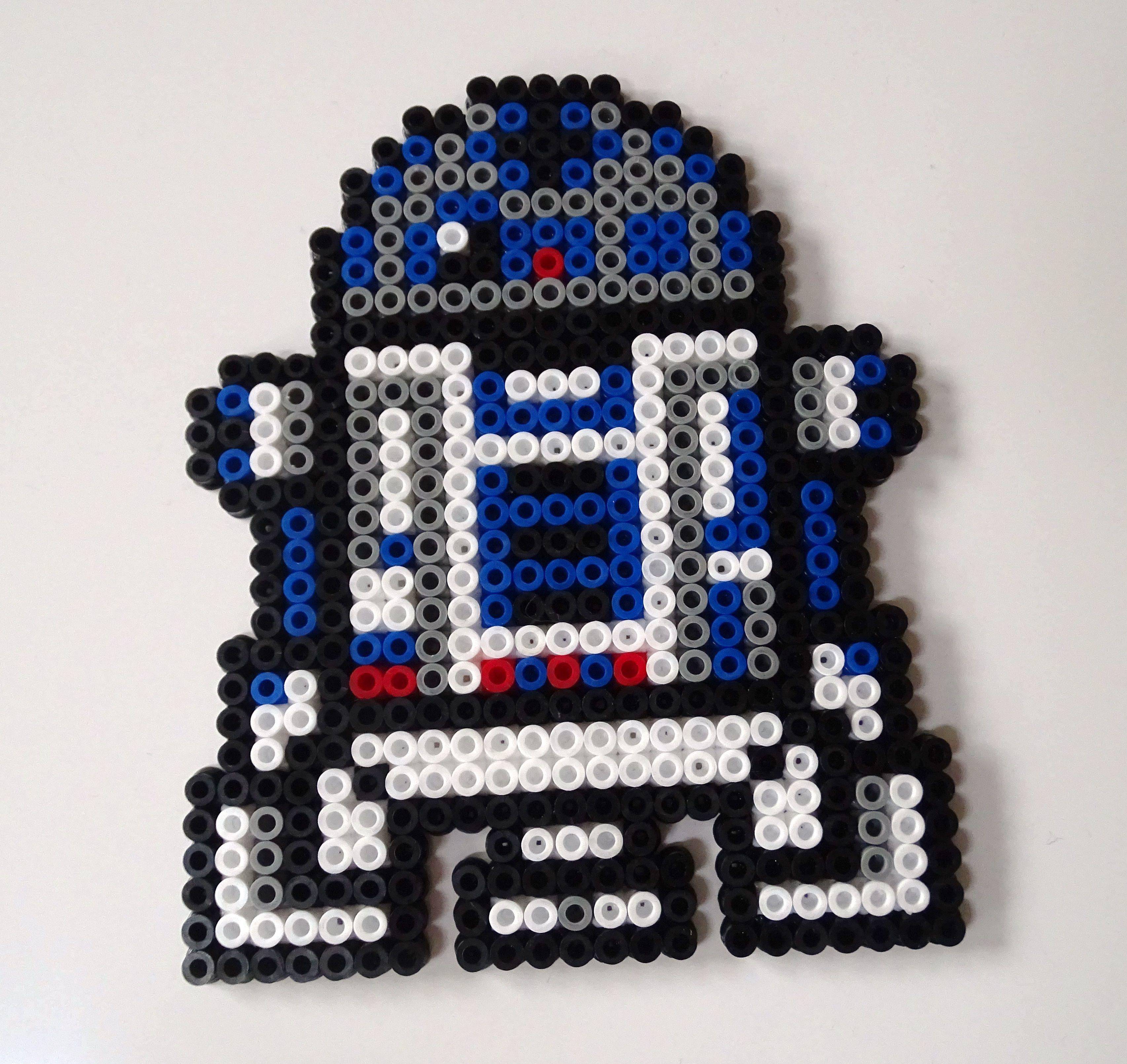 Starwars Stormtrooper Untersetzer Aus Bugelperlen