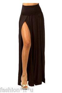 9bb72aedfc4 plus size high split maxi skirt
