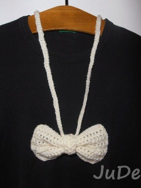 bow necklace  https://www.facebook.com/pages/Jude-Handmade/216830615147075