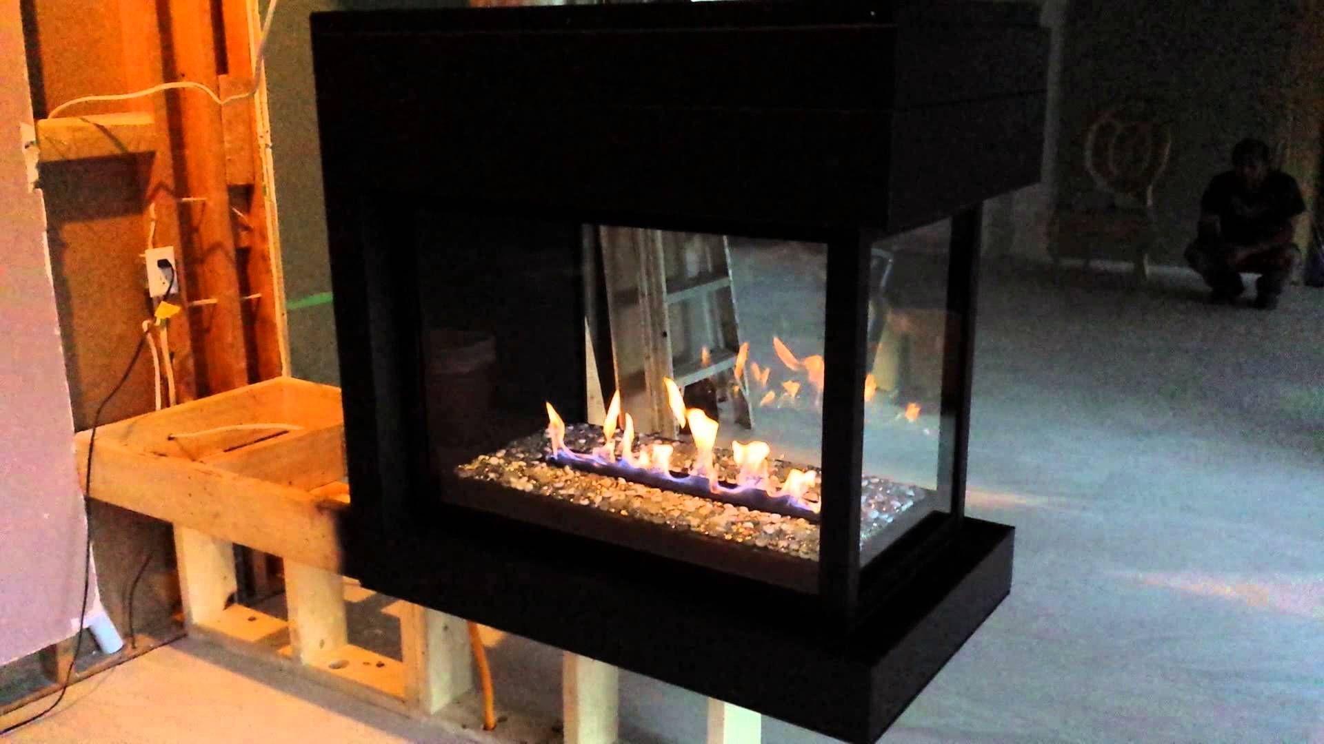 Fantastic 3 Sided Electric Peninsula Fireplace Montigo 3 Sided Download Free Architecture Designs Rallybritishbridgeorg