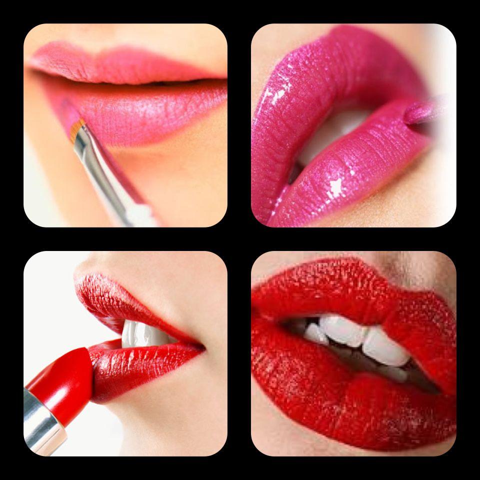 #Lábiosvermelhos são sinónimo de sensualidade, enquanto #lábiosrosa significam delicadeza. E que tal, meninas, qual a cor que faz mais o vosso estilo?! www.glamssecret.com #Glamssecret