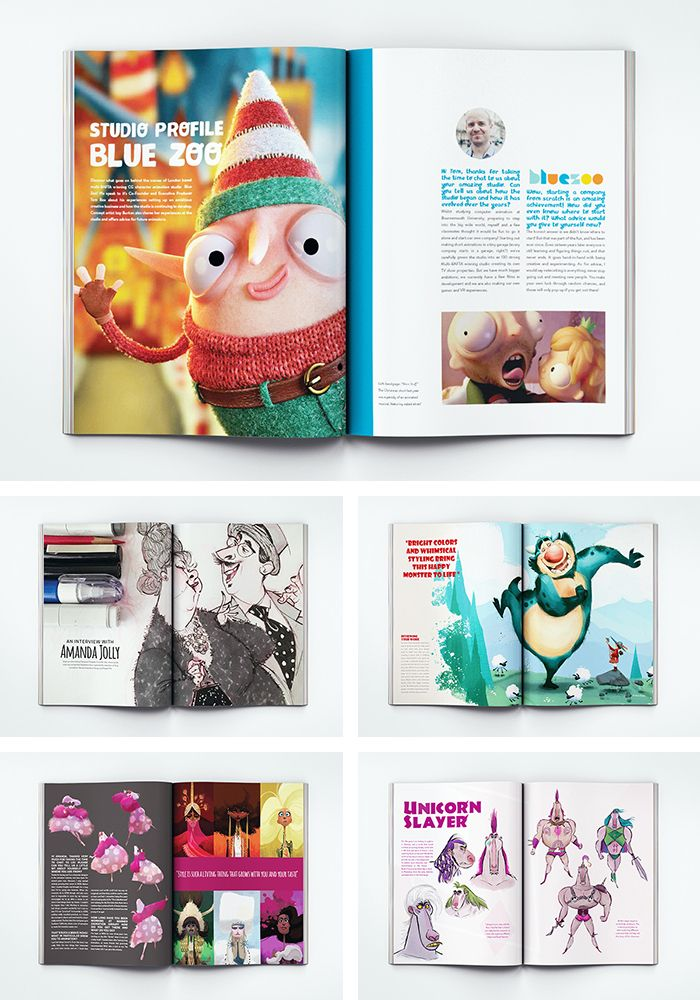 Check Out Character Design Quarterly A Lively And Informative New