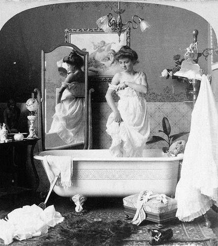 Nude bathing girls edwardian — photo 15