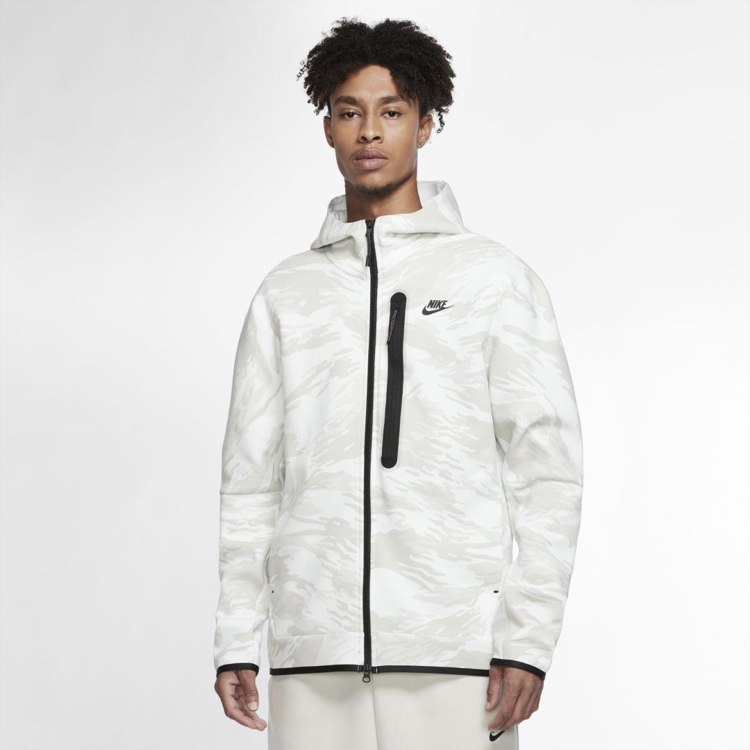 Nike Sportswear Tech Fleece Men S Full Zip Camo Hoodie Nike Com Nike Tech Fleece Tech Fleece Hoodie Nike Sportswear [ 1080 x 1080 Pixel ]