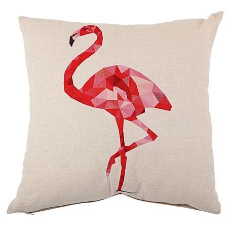 Habito Cushion Origami Flamingo 43cm X 43cm Amazing Art Pinterest