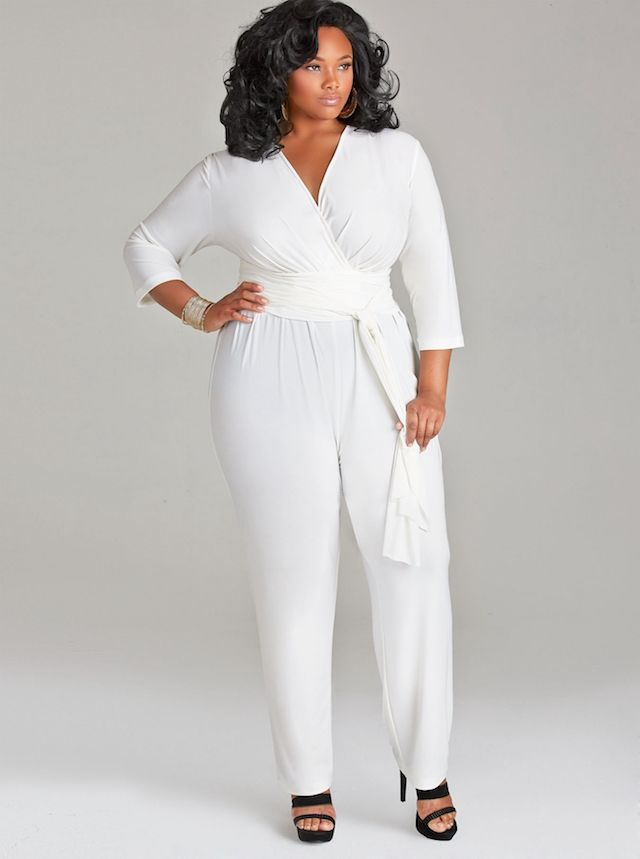 e0c94c68bbb Fabulous model in Monif C  s jumpsuit. Would you wear this at your rehearsal  dinner  Pin now