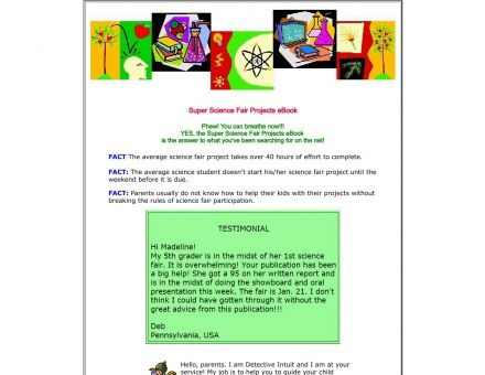 Super Science Fair Projectsnet books Pinterest Books - science project report