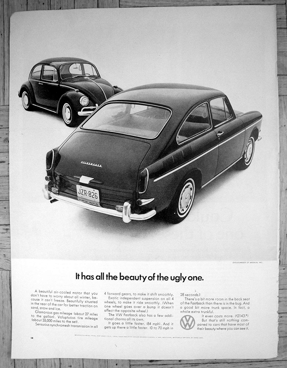 Amazon Com 1966 Vw Fastback Bug Comparison Cost 2 143 Original 13 5 10 5 Magazine Ad Classic Ads Vintage Volkswagen Car Advertising Vw Volkswagen