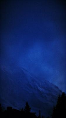 Tumblr Dark Blue Aesthetic Wallpaper