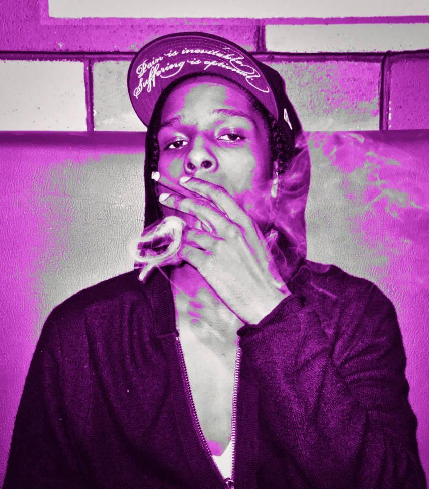 Purple SWAG A$AP | SWAG | Pinterest | Rap, Asap rocky and ...