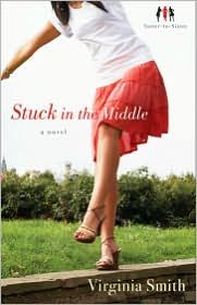 Stuck in the middle....my first book I downloaded on my daughter's Kindle, lol...so far so good