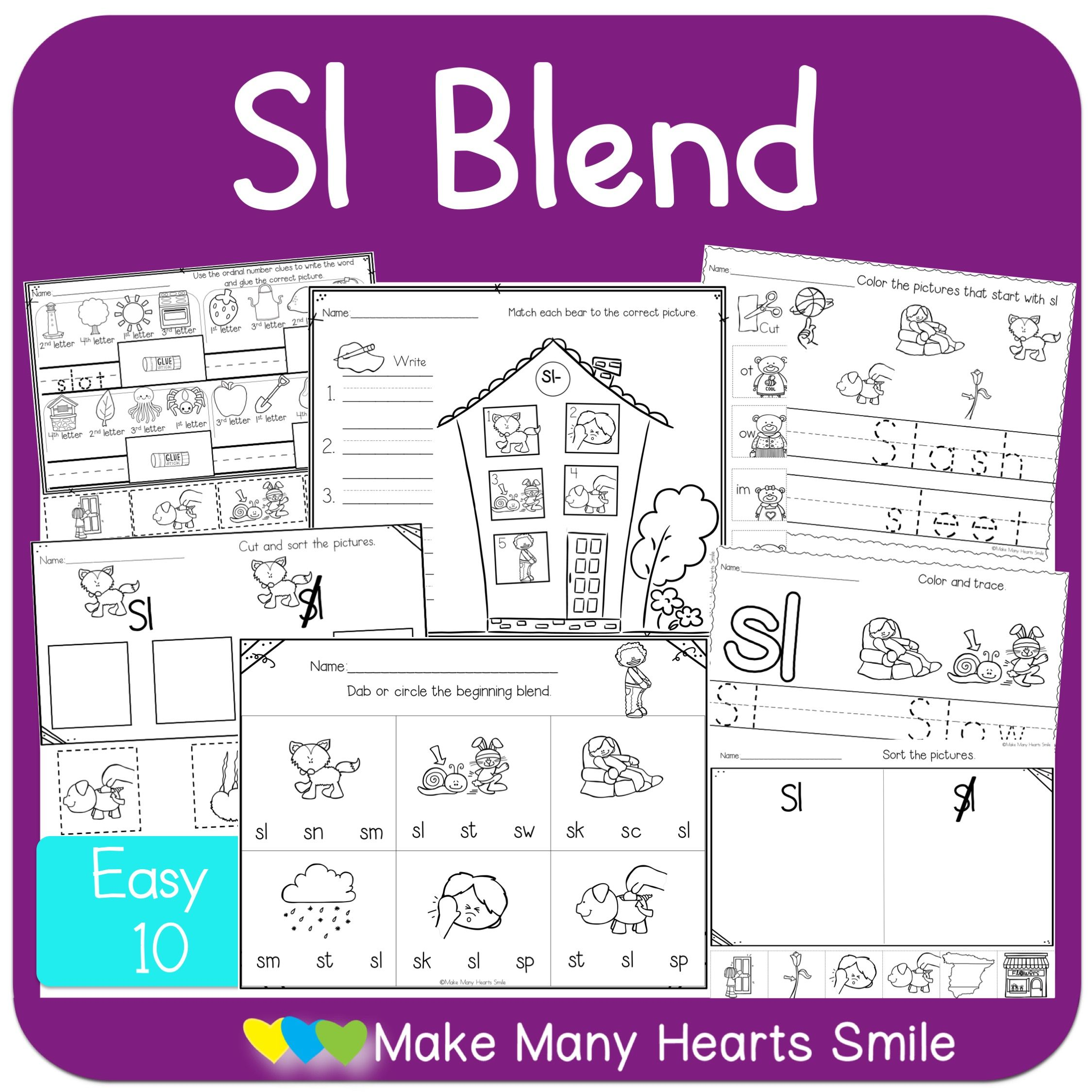 Sl Easy 10 Worksheets With Images