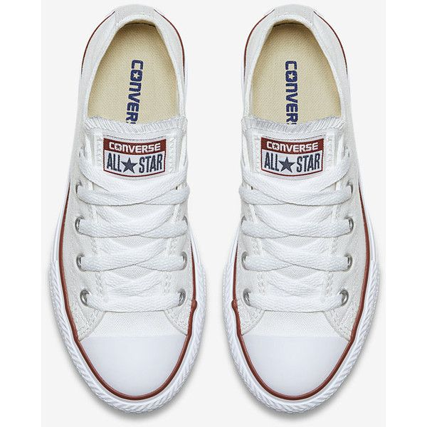 Converse Chuck Taylor All Star Low Top (10.5c-3y) Little Kids  Shoe. ( 35)  ❤ liked on Polyvore featuring girl shoes 877daa123