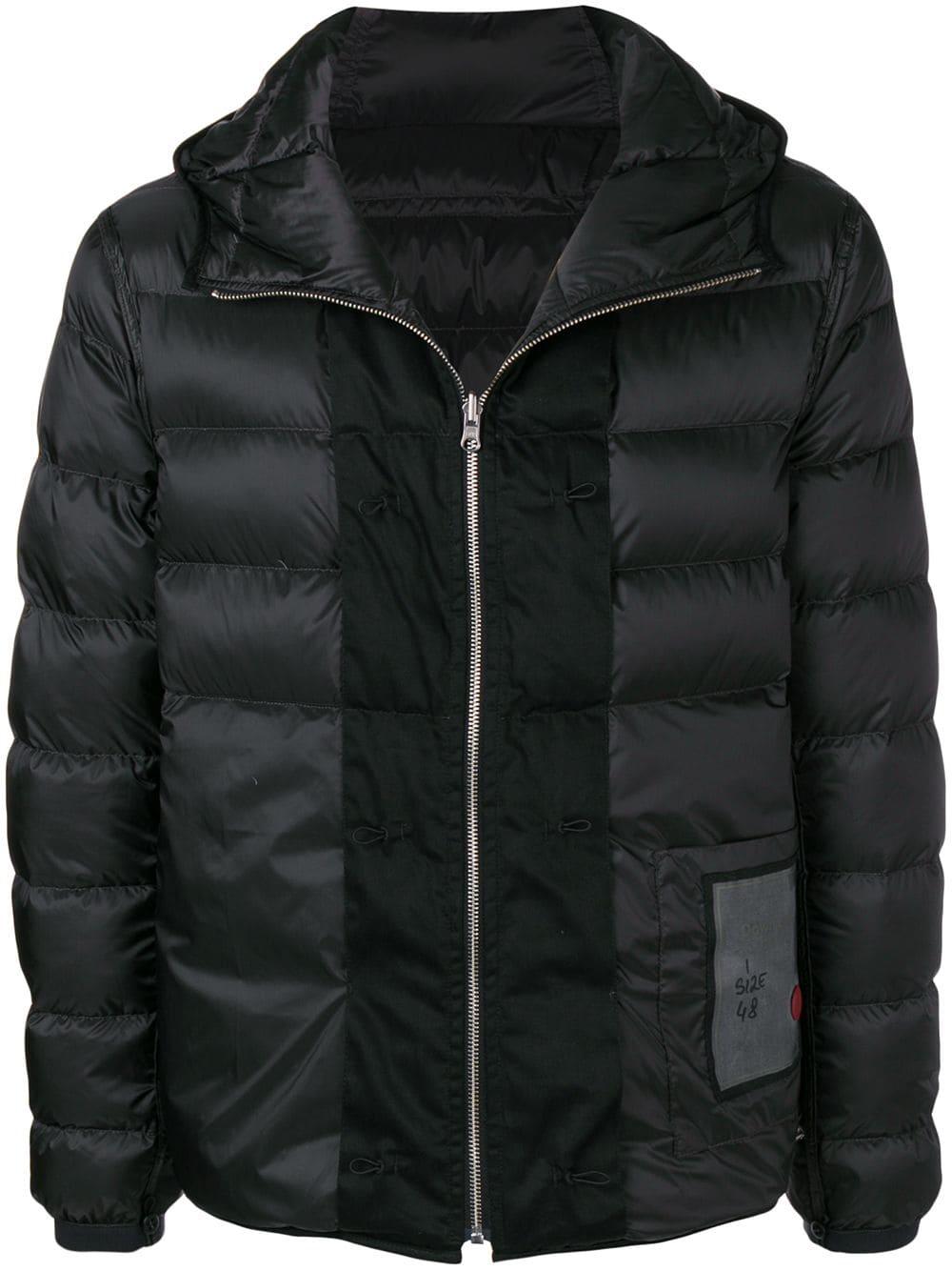 Jacket Hooded Black tenc Ten C cloth Padded tzw5xxq7R
